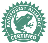 Rainforest Alliance Certified Badge