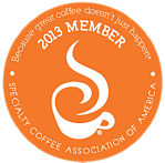 Specialty Coffee Association Member