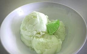 Green Tea Lime Ice Cream